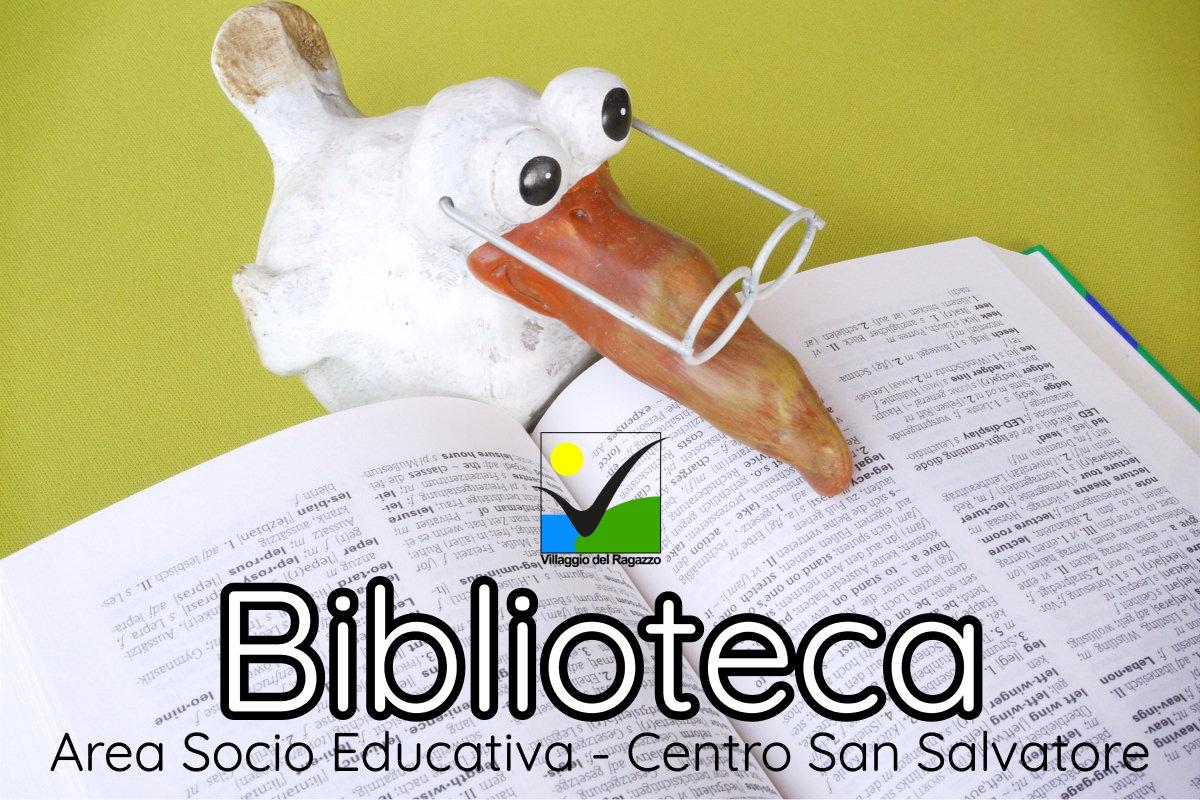 Copertina Biblioteca Area Socio Educativa Centro San Salvatore