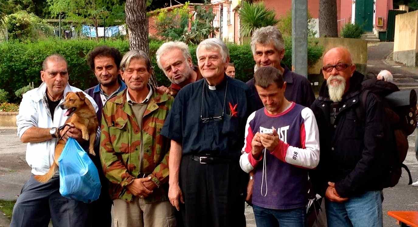 prete Rinaldo - Compleanno Villaggio del Ragazzo - Centro Chiarella