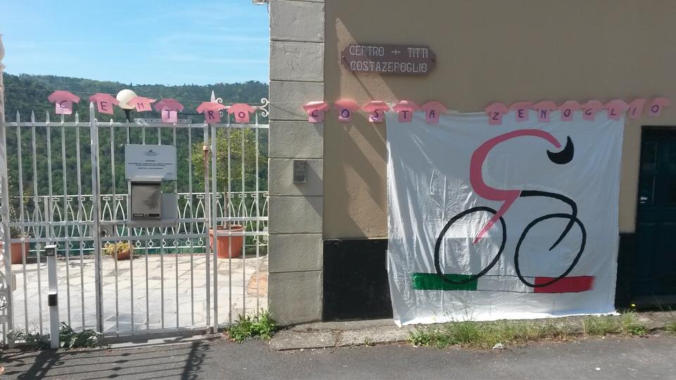 Centro Costa Zenoglio - Giro d'Italia 2015