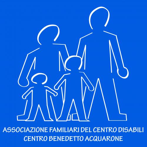 Logo Associazione familiari del Centro Disabili Centro Benedetto Acquarone