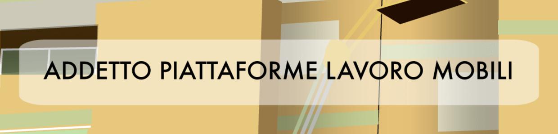 Banner corso VRS addetto piattaforme lavoro mobili