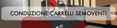 Banner corso VRS conduzione carrelli semoventi