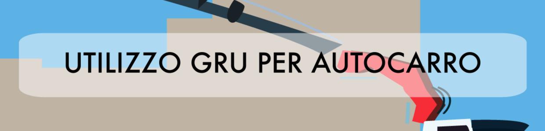 Banner corso VRS utilizzo gru per autocarro