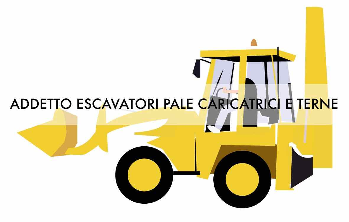 Logo VRS Corso Addetto alla conduzione di escavatori, pale caricatrici frontali e terne