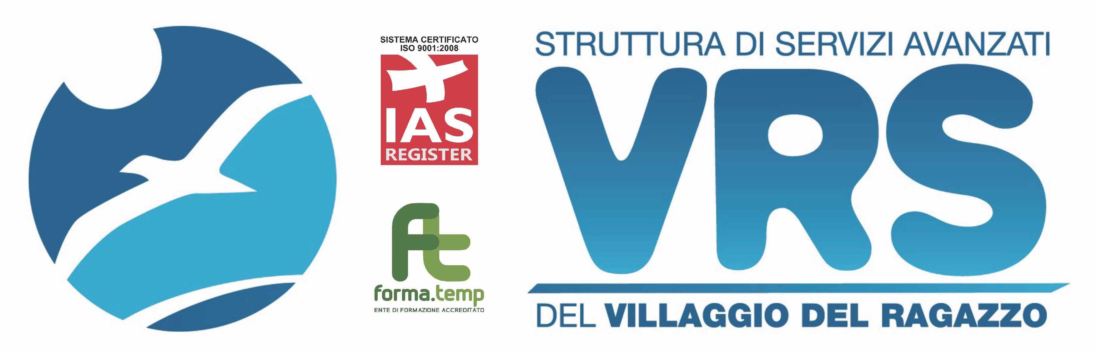 Tutti i corsi di formazione a cura di VRS in partenza da settembre 2018 al Villaggio del Ragazzo