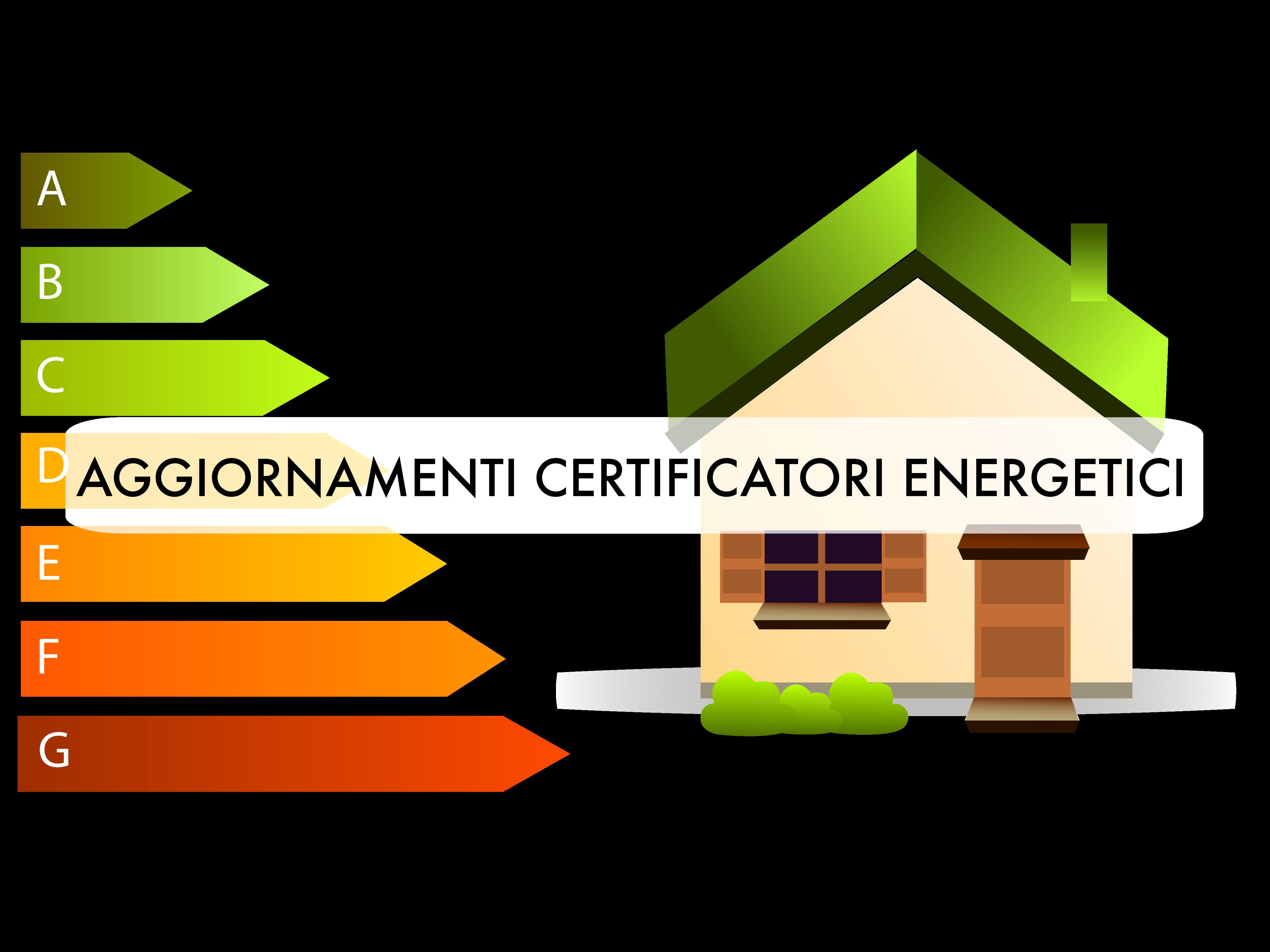 VRS Aggiornamenti certificatori energetici Cover