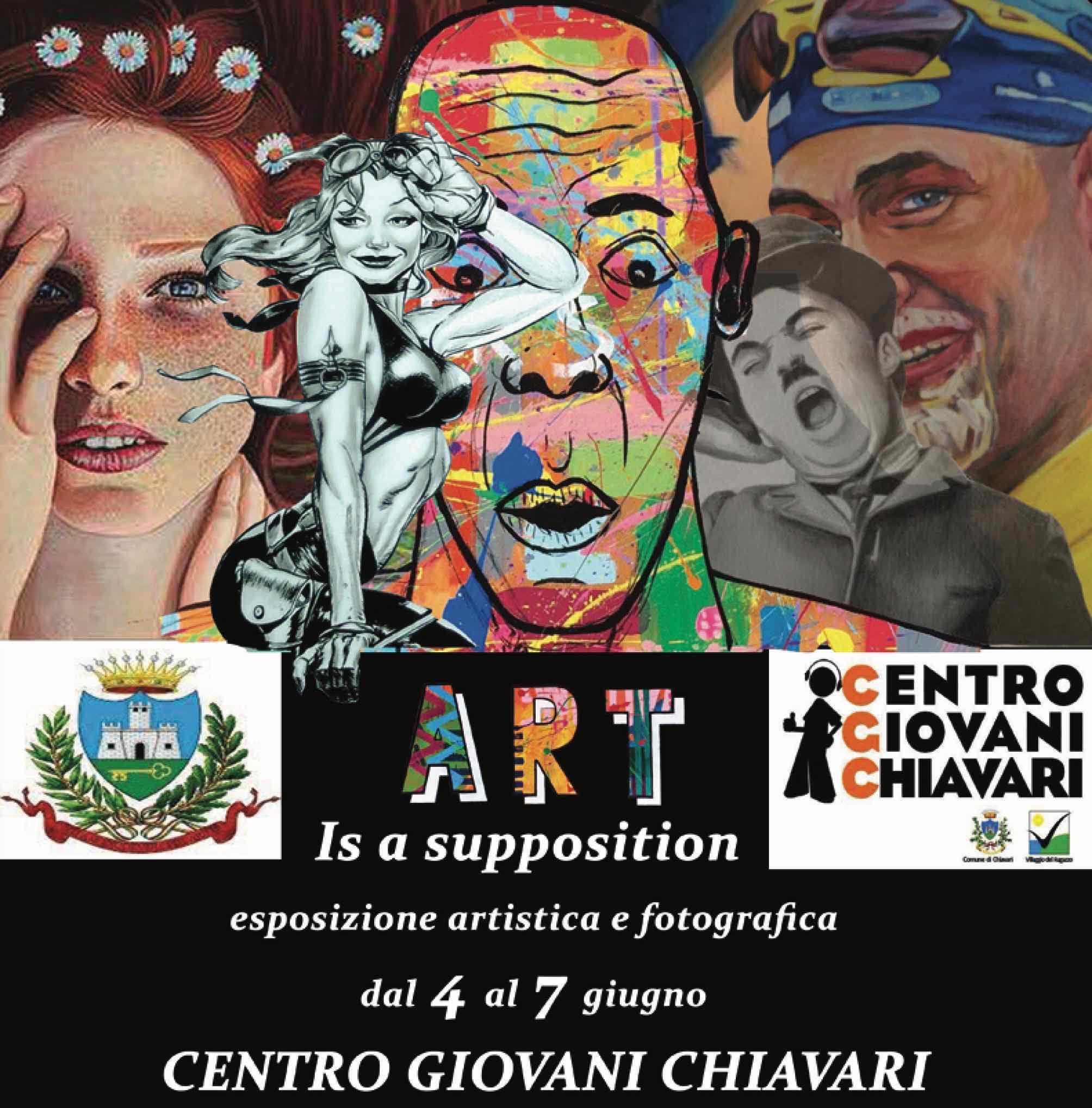 Centro Giovani Chiavari - Mostra Art is a supposition