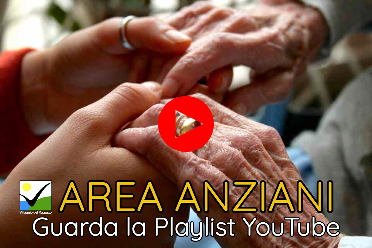 Area Anziani - Copertina Playlist YouTube