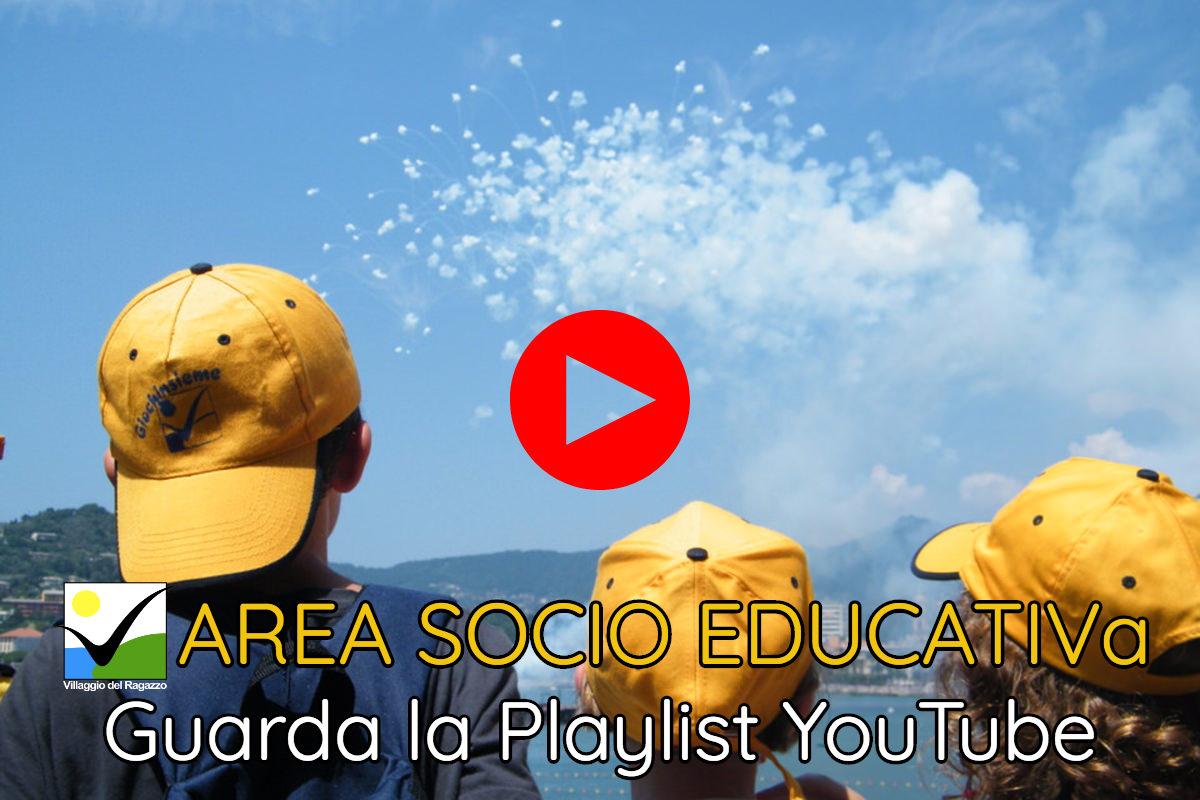 Area Socio Educativa - Copertina Playlist YouTube