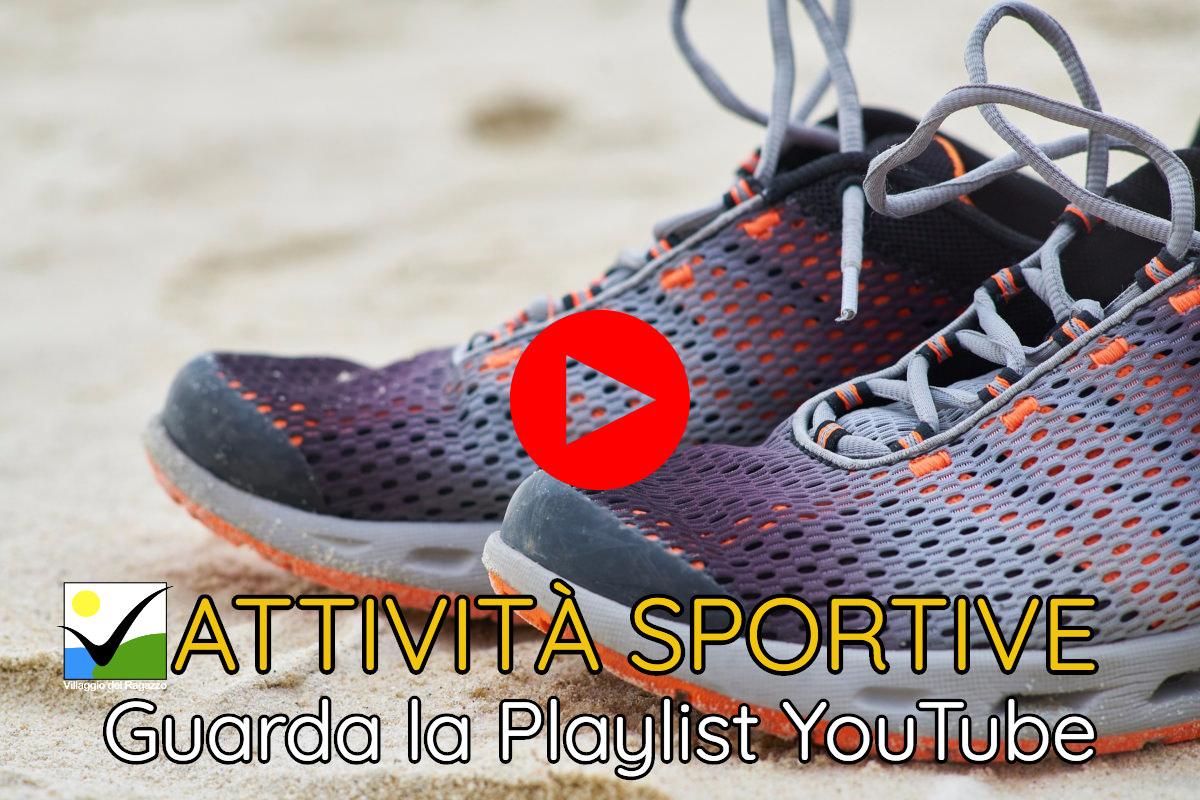 Attività Sportive - Copertina Playlist YouTube