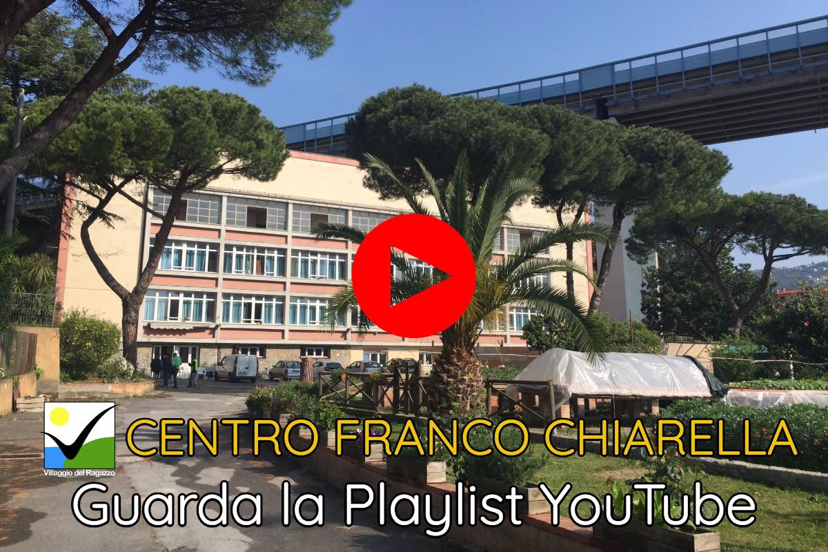 Centro Franco Chiarella - Copertina Playlist YouTube