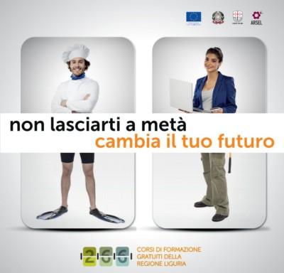 Corsi Formazione Professionale FSE 2016 Regione Liguria - Cambia il tuo futuro 01