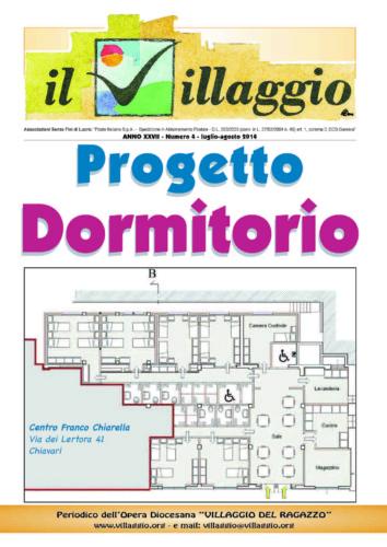 Periodico Il Villaggio - Anno XXVII n°4 luglio-agosto 2014