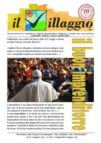 Periodico Il Villaggio 2017.07-08 Copertina