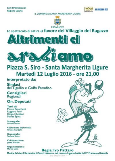 Spettacolo-a-favore-del-Villaggio-2016-Altrimenti-ci-arabiamo-locandina Santa Margherita