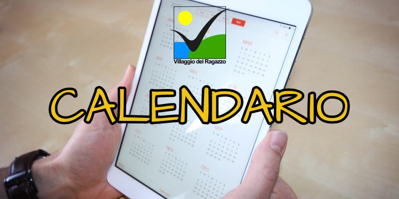 Calendario Formazione e VRS