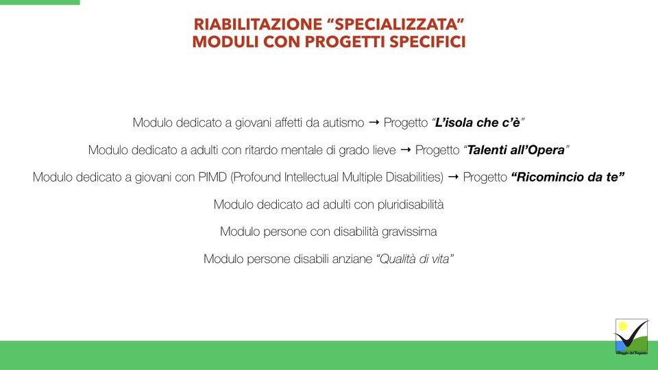Villaggio del Ragazzo - Presentazione Ricomincio da te - Area Disabili.005