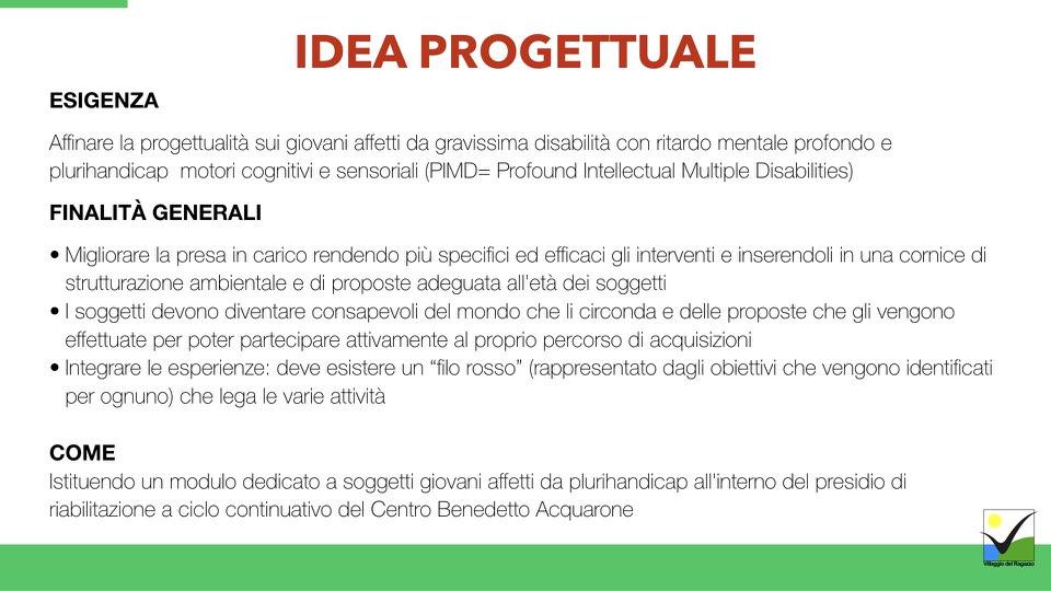 Villaggio del Ragazzo - Presentazione Ricomincio da te - Area Disabili.006