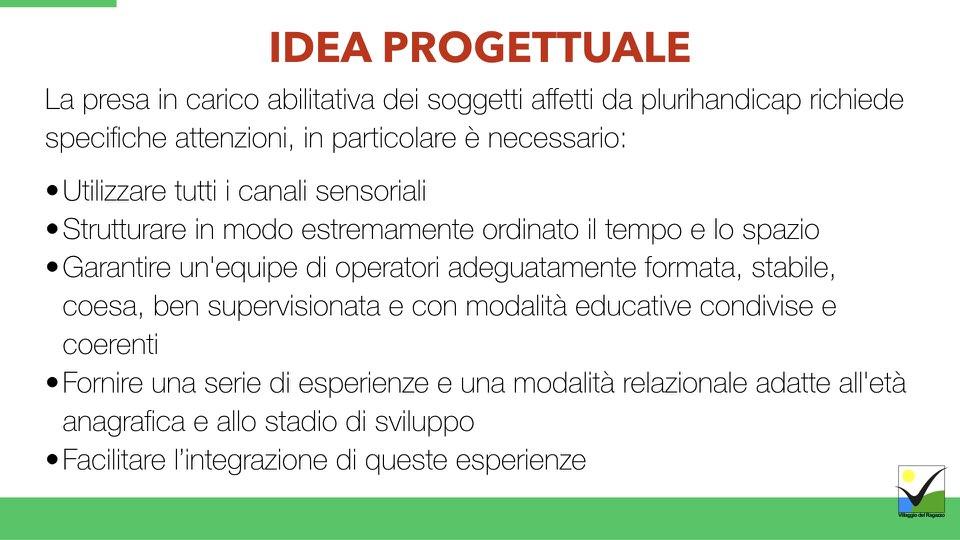 Villaggio del Ragazzo - Presentazione Ricomincio da te - Area Disabili.013