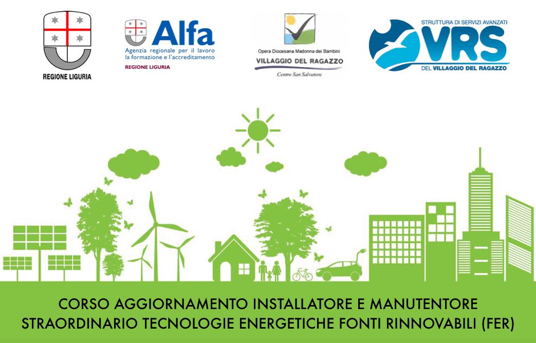 Corso Aggiornamento Installatore e Manutentore Straordinario Tecnologie Energetiche Fonti Rinnovabili (FER) cover