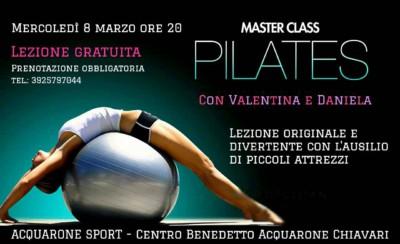 Master Class Pilates al Centro Benedetto Acquarone