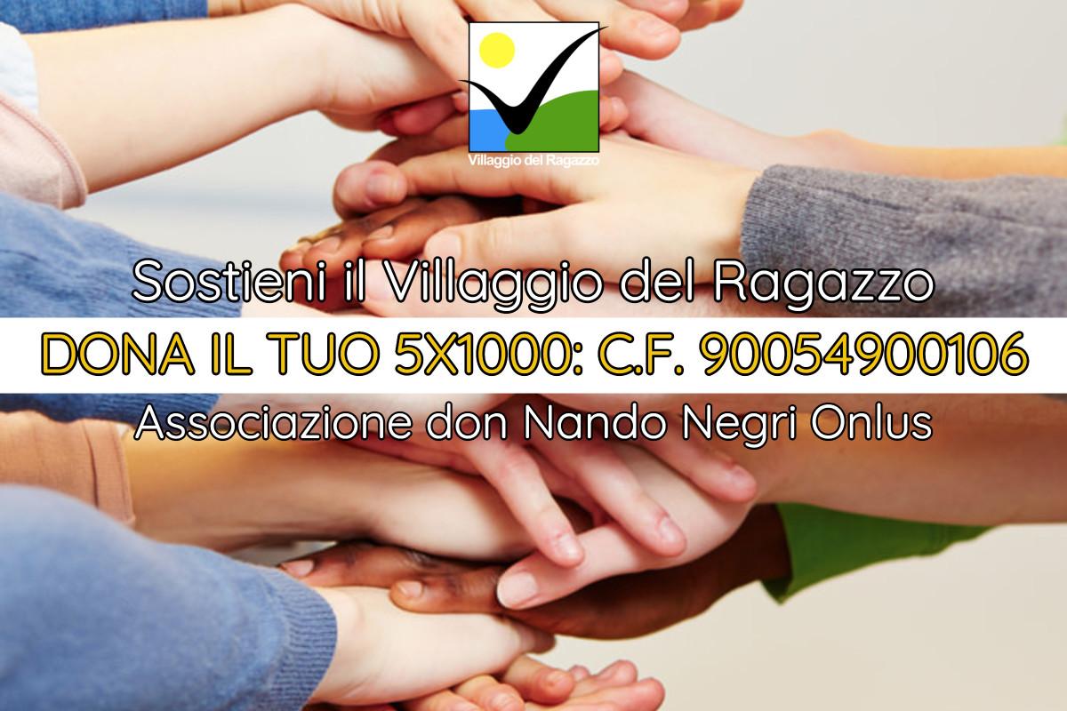 Associazione don Nando Negri Onlus - Campagna 5X1000 2017