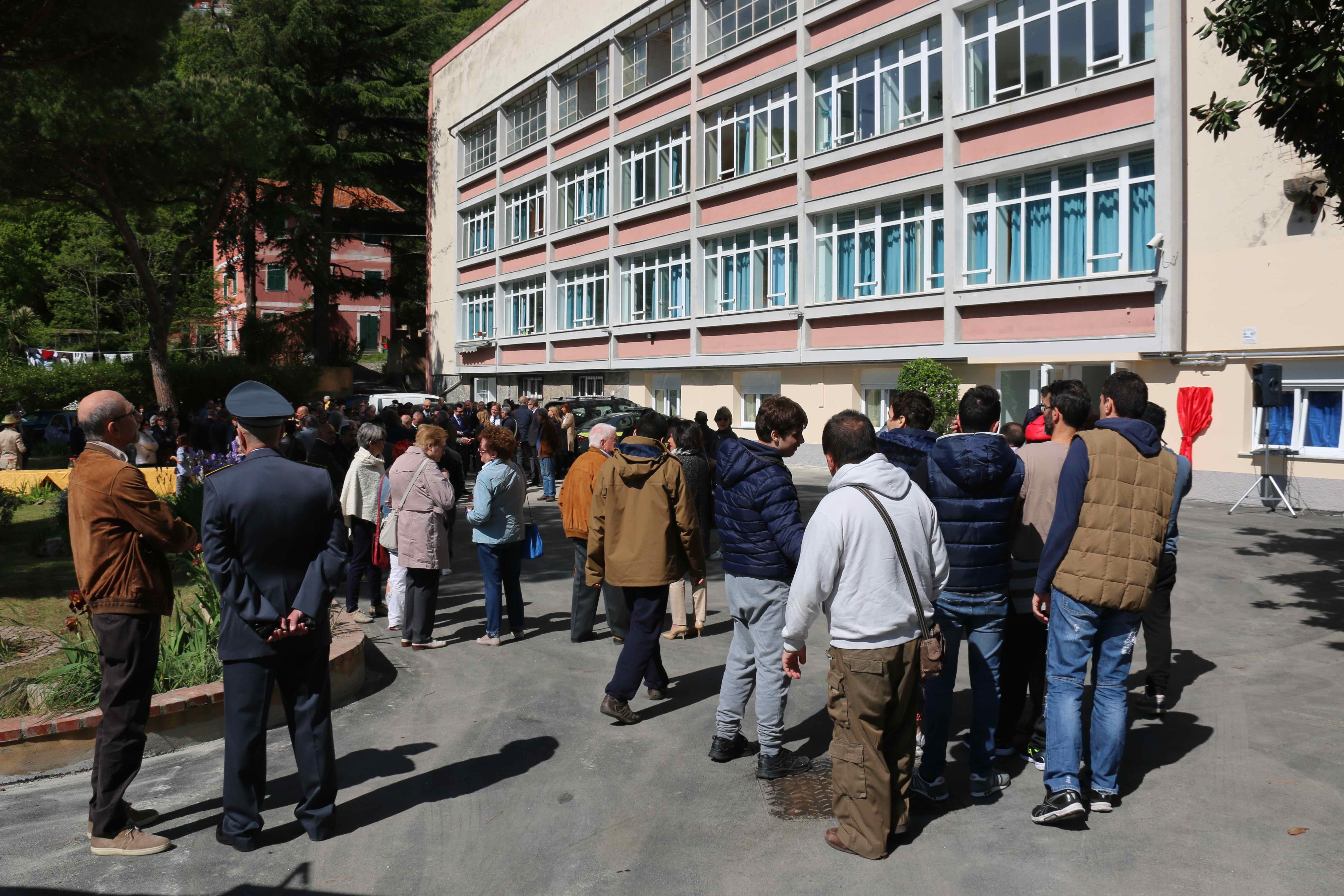 Inaugurazione Dormitorio Maria Teresa Bruzzone Centro Franco Chiarella 2017.04.22 - 2