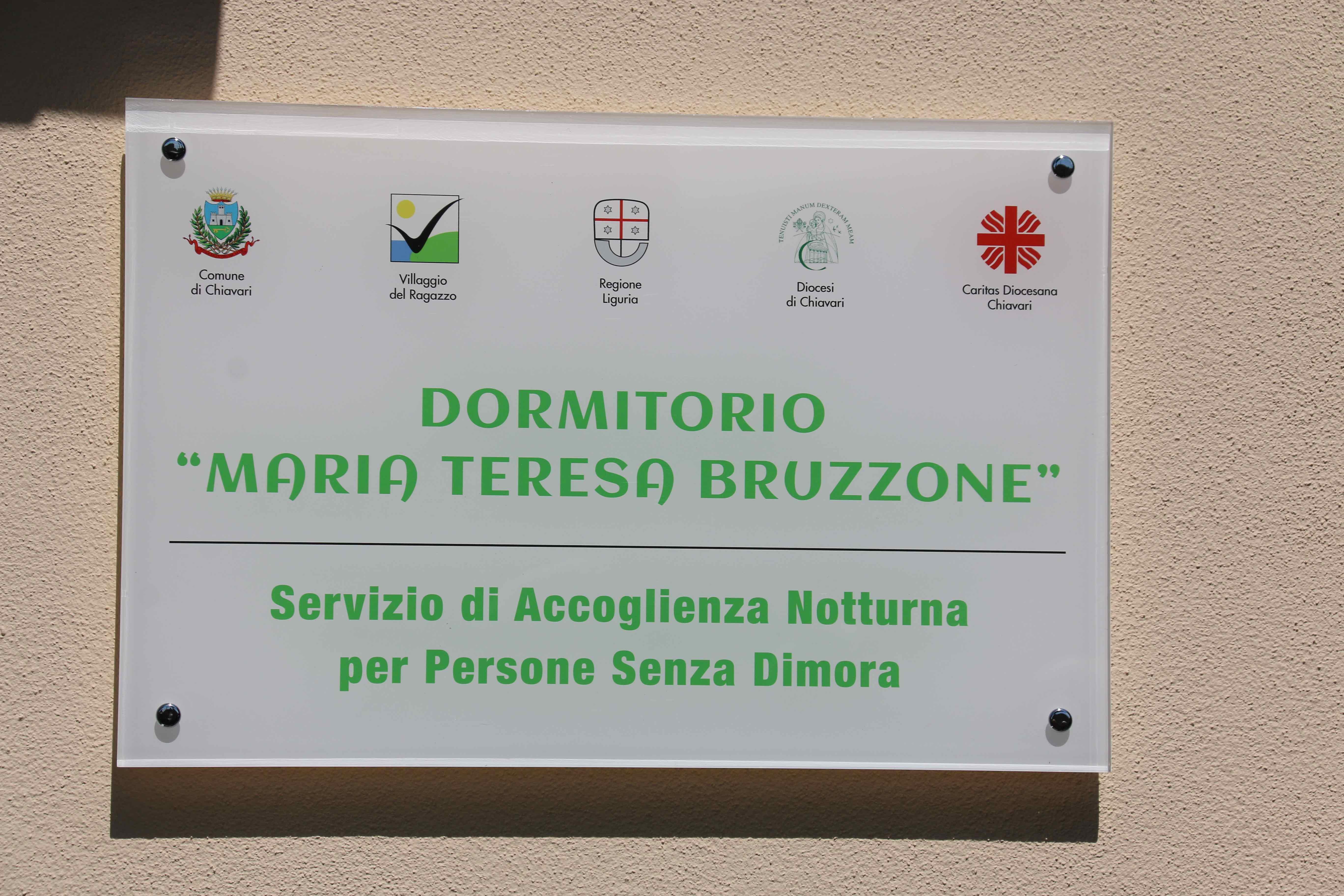 Inaugurazione Dormitorio Maria Teresa Bruzzone Centro Franco Chiarella 2017.04.22 - 24