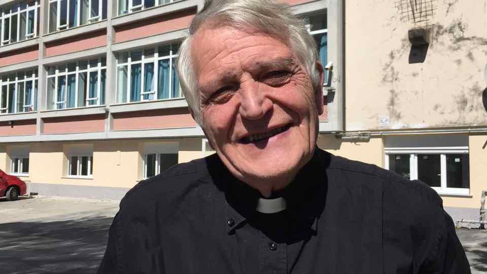 prete Rinaldo Rocca - Dormitorio Centro Franco Chiarella