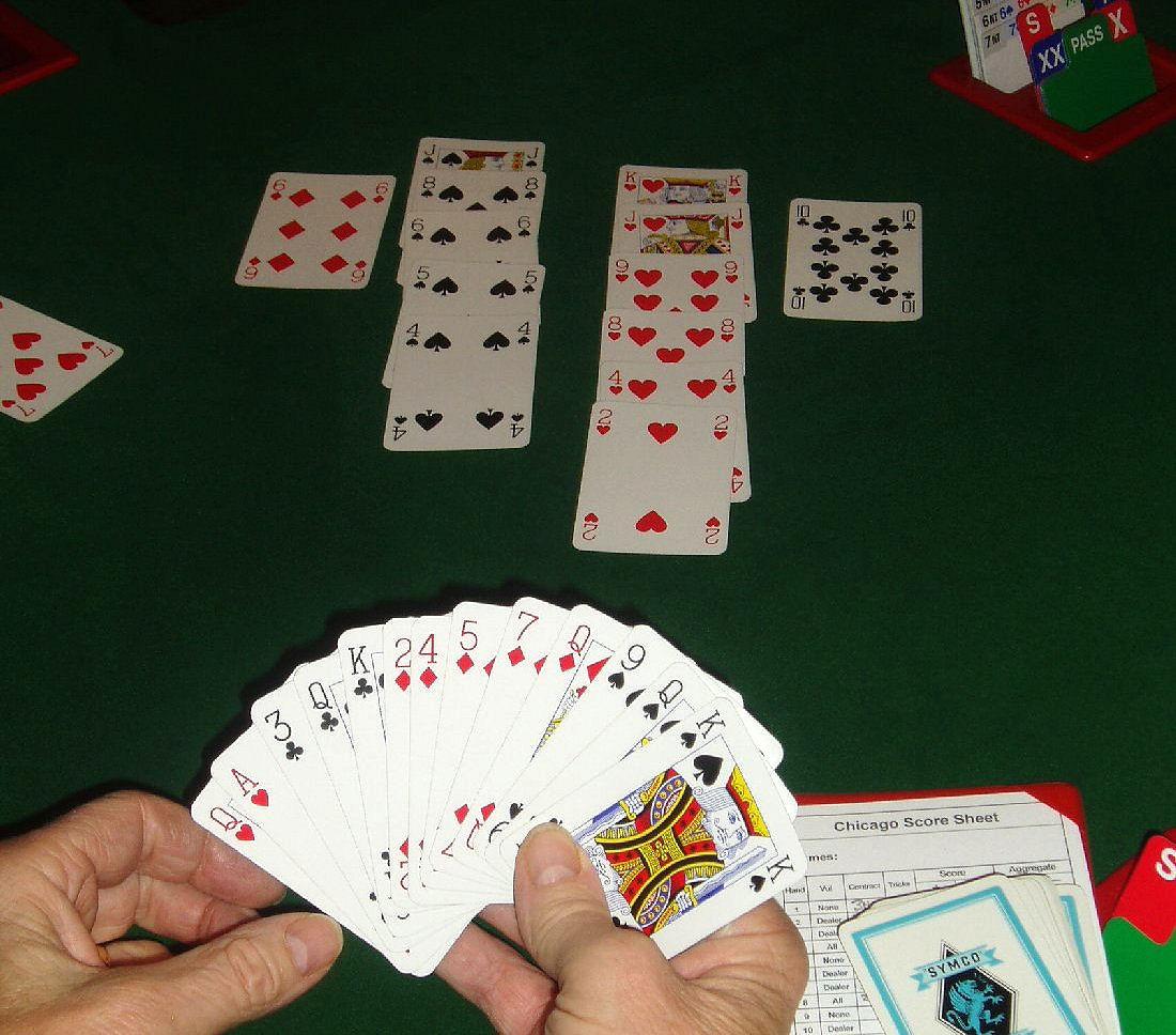 Gioco carte bridge