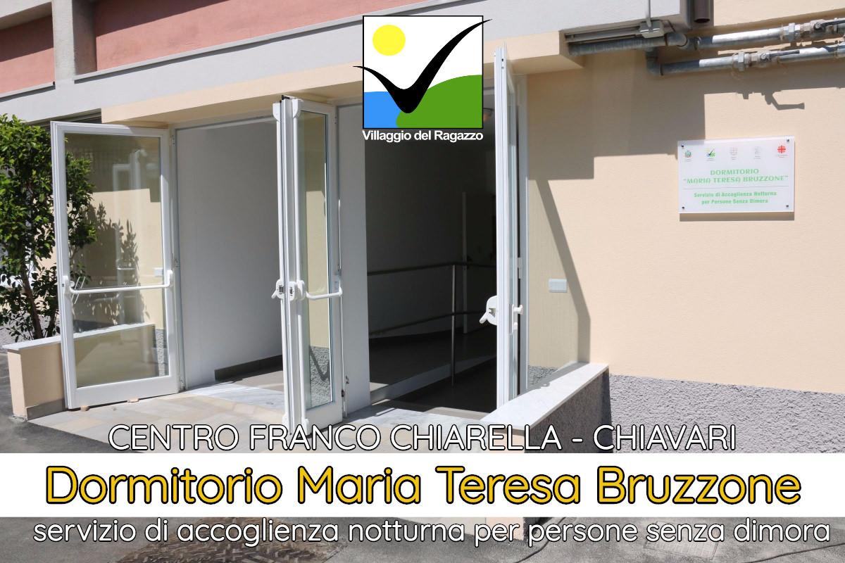 Dormitorio Maria Teresa Bruzzone Centro Franco Chiarella copertina