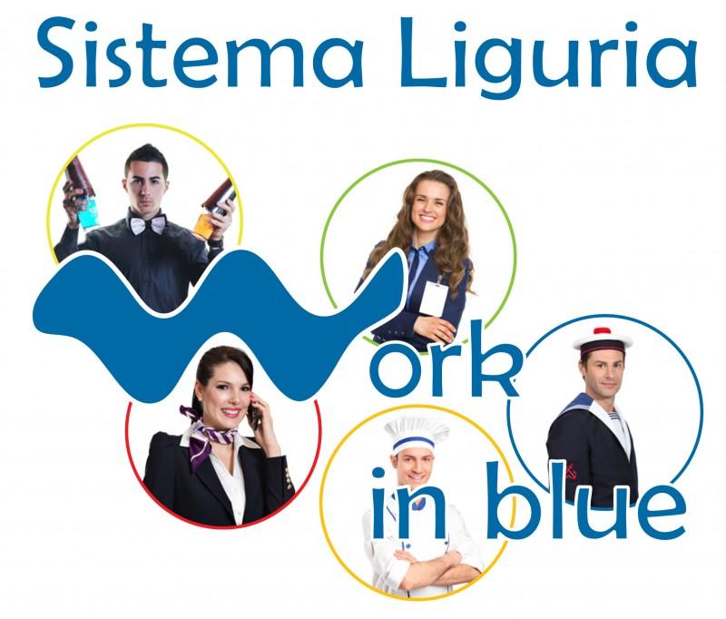 Sistema Liguria Work in Blue logo + foto