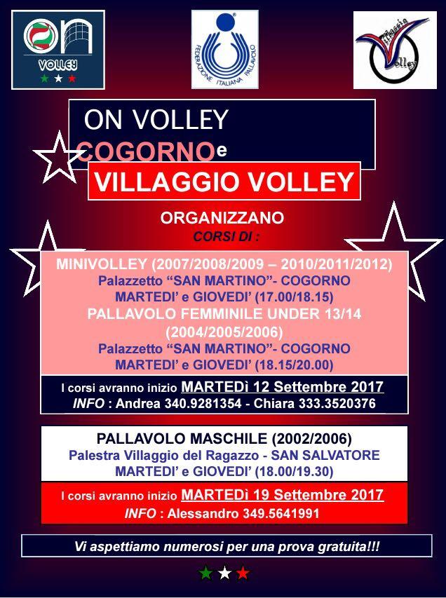 Villaggio Volley - Corsi Pallavolo 2017-18