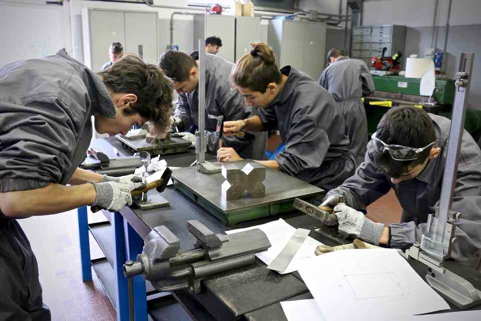 Corso Operatore Meccanico - Centro Formazione Professionale Altiero Spinelli - Genova - 54