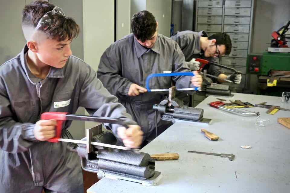 Corso Operatore Meccanico - Centro Formazione Professionale Altiero Spinelli - Genova - 58