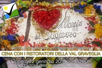 Cena 2018 Ristoratori Val Graveglia
