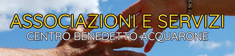 Banner Associazioni e Servizi Centro Acquarone