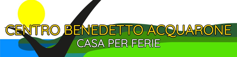 Banner Casa per Ferie Centro Benedetto Acquarone