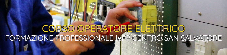 Banner Corso Operatore Elettrico