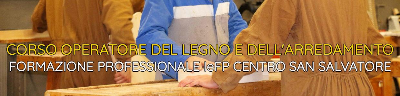 Banner Corso Operatore del Legno