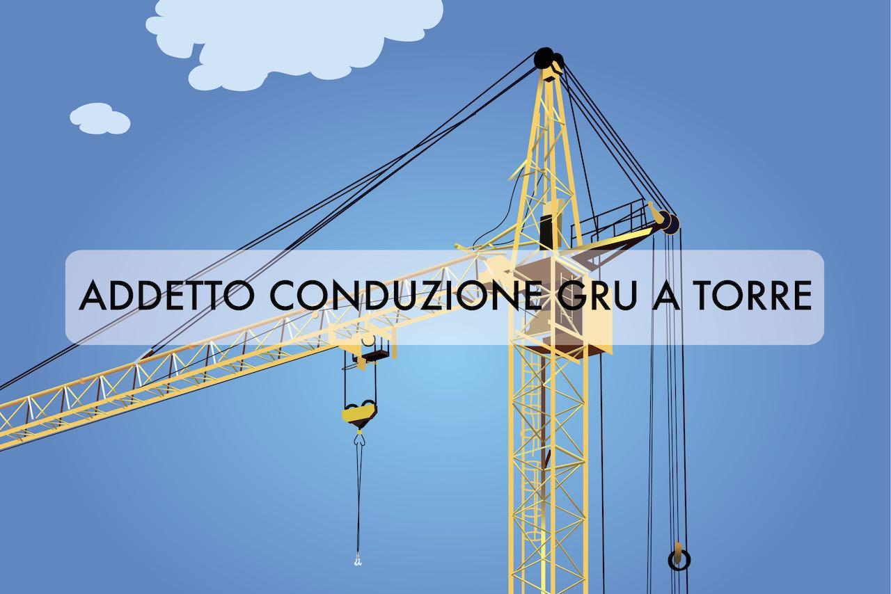 VRS - Corso addetto conduzione gru a torre
