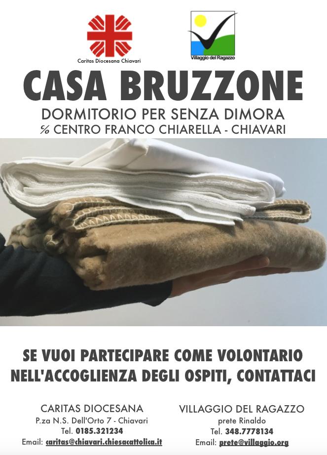 Villaggio del Ragazzo + Caritas Diocesana - Volontariato Dormitorio Casa Bruzzone