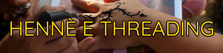 Banner Hennè e Threading