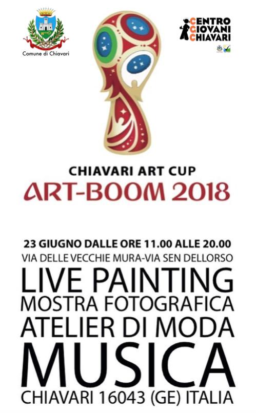 Art-Boom 2018 Chiavari Art Cup