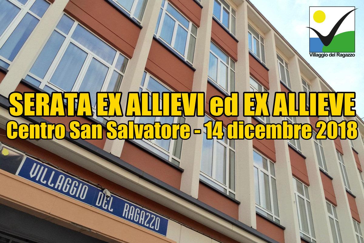 Invito Serata Ex Allievi ed Ex Allieve 2018