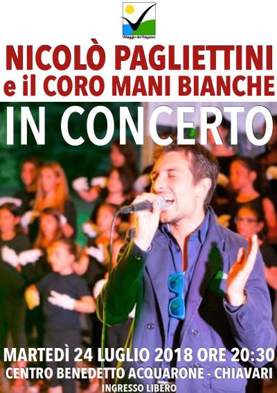 Locandina concerto Nicolò Pagliettini 2018.07.24