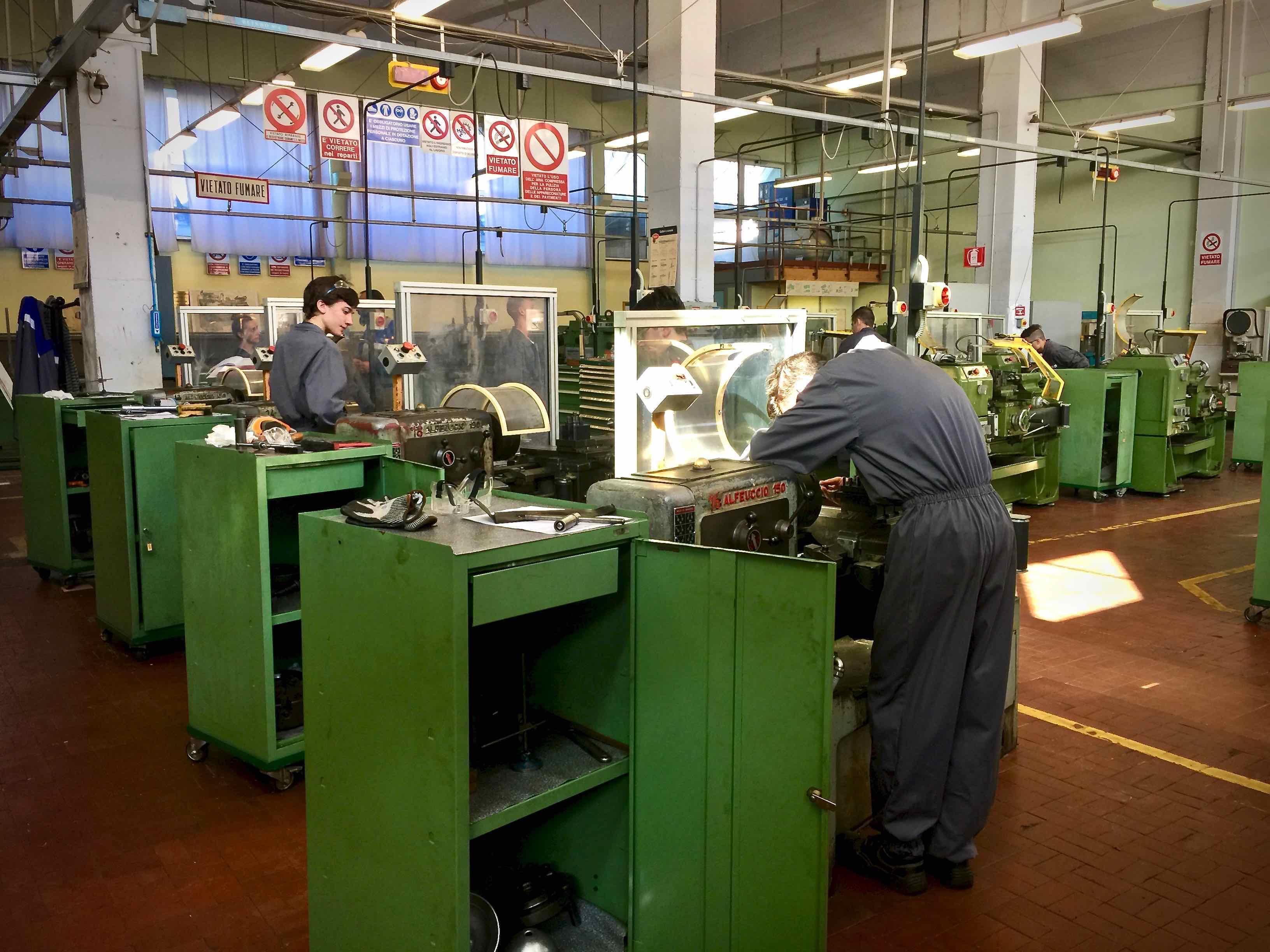 Corsi IeFp Formazione Professionale Villaggio del Ragazzo - Operatore Meccanico