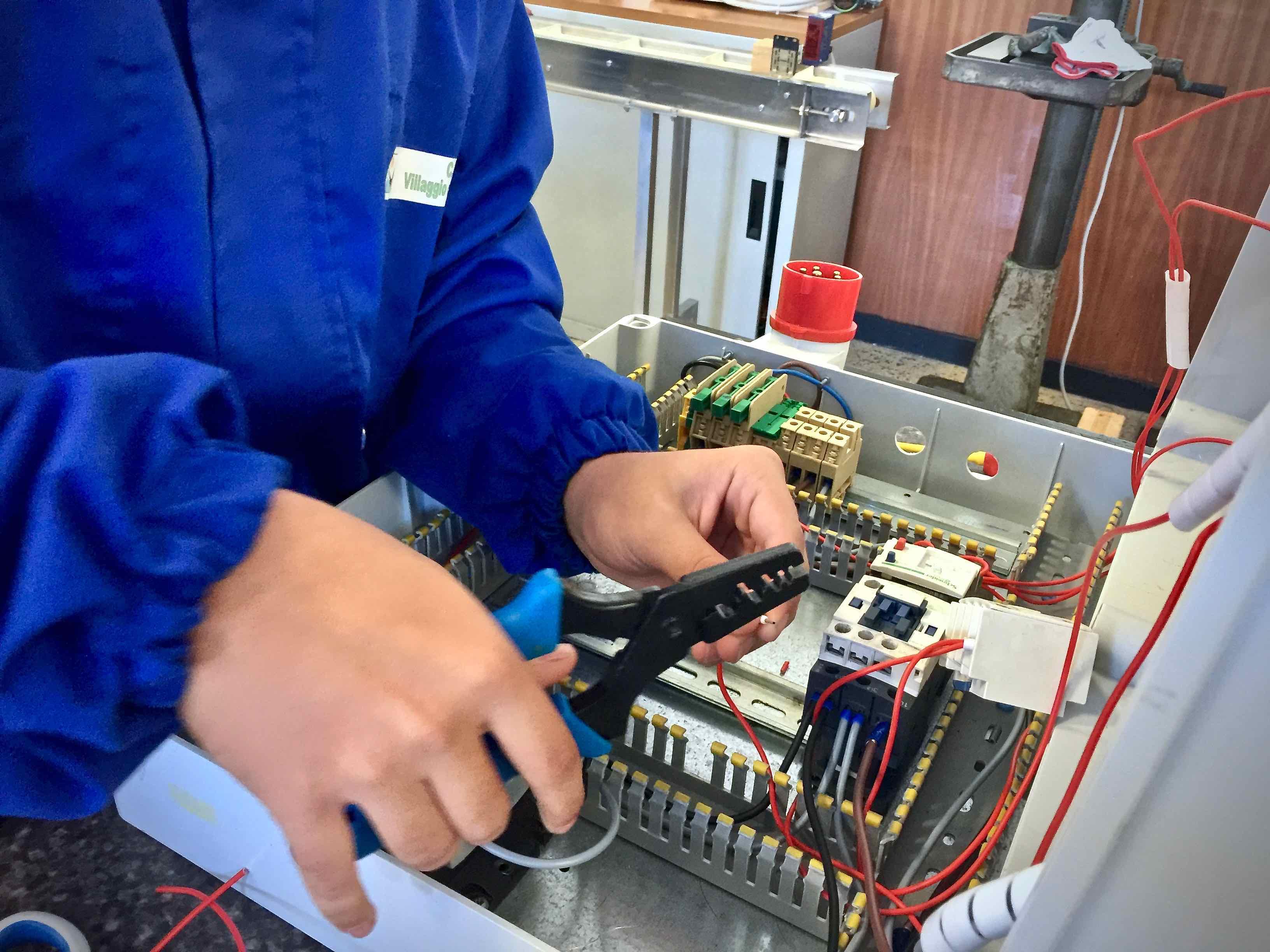 Corsi IeFp Formazione Professionale Villaggio del Ragazzo - Operatore Elettrico