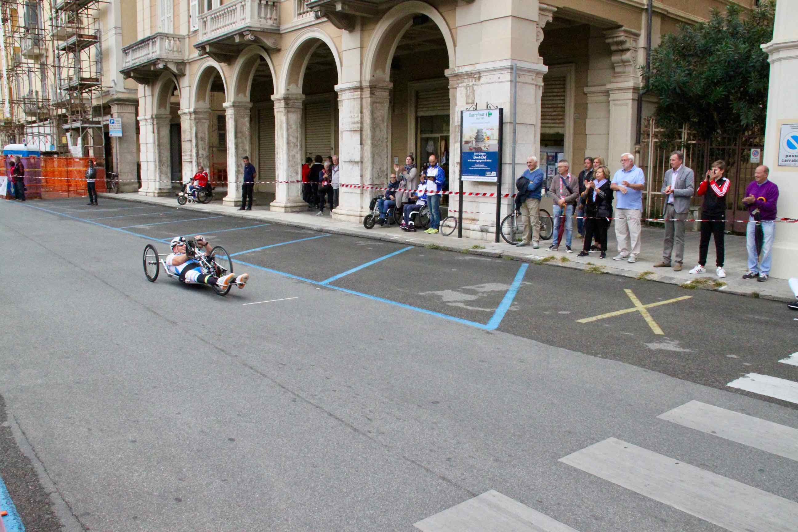 1° Memorial don Nando Negri a Chiavari per il Giro d'Italia Handbike 2018 - 11