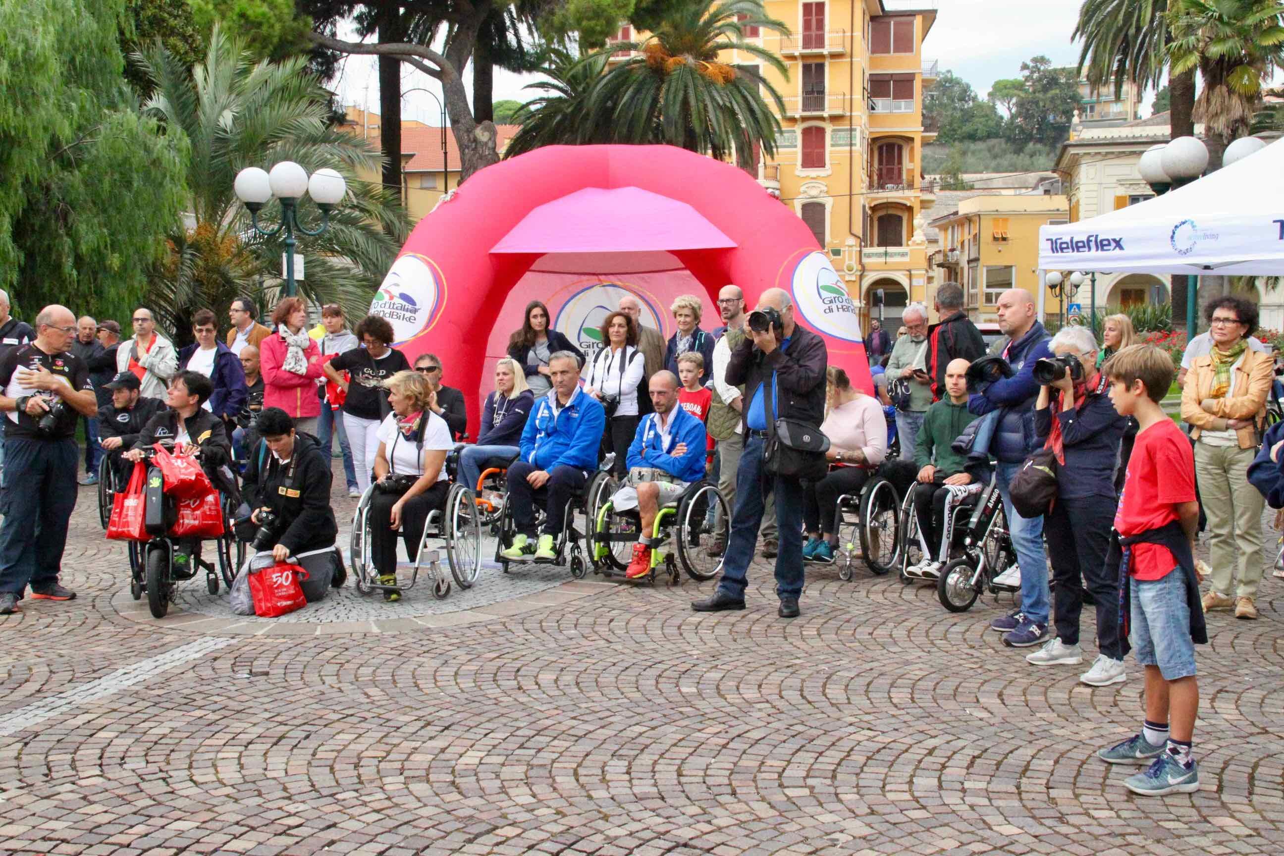 1° Memorial don Nando Negri a Chiavari per il Giro d'Italia Handbike 2018 - 15